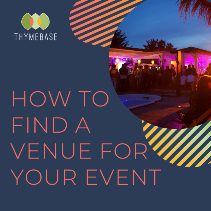 How To Find A Venue For Your Event