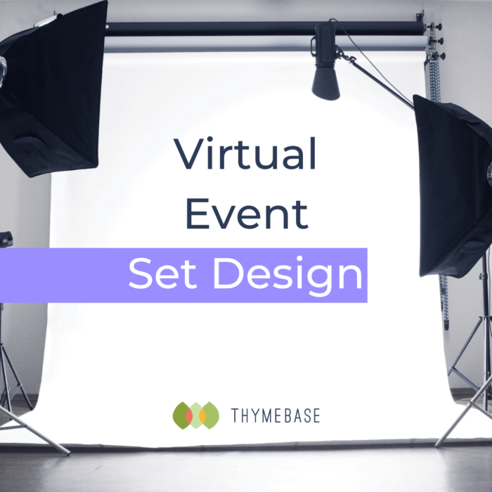 Virtual Event Set Design